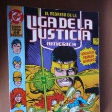Cómics: LIGA DE LA JUSTICIA DE AMÉRICA. LIBRO UNO. DC COMICS. PRESTIGIO ZINCO. Lote 28261075