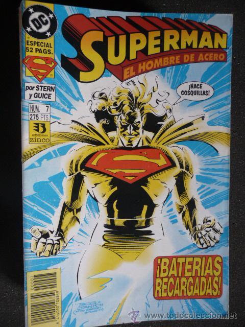 SUPERMAN. EL HOMBRE DE ACERO. Nº 7. ZINCO (Tebeos y Comics - Zinco - Superman)