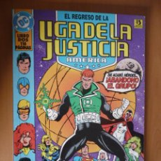Cómics: LIGA DE LA JUSTICIA AMÉRICA. LIBRO DOS. PRESTIGIO ZINCO. Lote 28284923