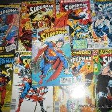 Cómics: SUPERMAN EL HOMBRE DE ACERO (1,2,3 Y 5) EL REGRESO DE SUPERMAN 1 AL 5. (D.DE LA MUERTE DE SUPERMAN). Lote 28290028