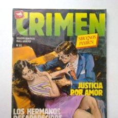 Cómics: CRIMEN SUCESOS REALES, Nº82, EDI.ZINCO 1981. Lote 28350892