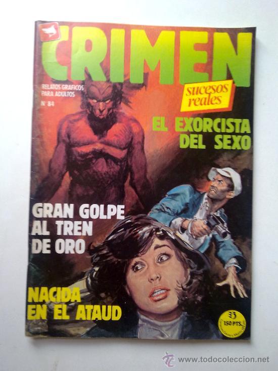 CRIMEN SUCESOS REALES, Nº 84, EDI.ZINCO 1981 (Tebeos y Comics - Zinco - Otros)