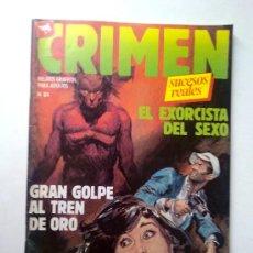 Cómics: CRIMEN SUCESOS REALES, Nº 84, EDI.ZINCO 1981. Lote 28350898