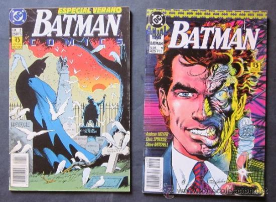 Cómics: LOTE 6 COMICS BATMAN - EDICONES ZINCO - Foto 2 - 40550563