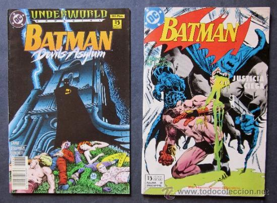 Cómics: LOTE 6 COMICS BATMAN - EDICONES ZINCO - Foto 3 - 40550563