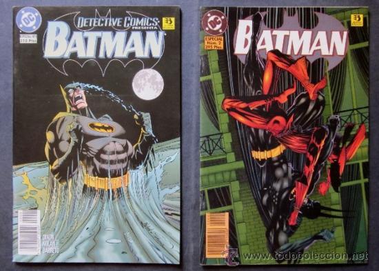 Cómics: LOTE 6 COMICS BATMAN - EDICONES ZINCO - Foto 4 - 40550563