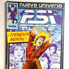 Cómics: PSI FORCE Nº 9 NUEVO UNIVERSO ¡! FORUM 1988. Lote 28491890