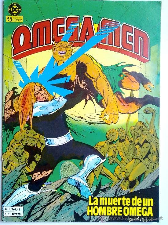 LA MUERTE DE UN HOMBRE HOMEGA, OMEGA MEN, Nº 4, 1984 (Tebeos y Comics - Zinco - Otros)
