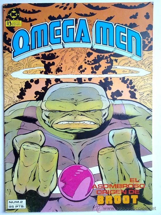 EL ASOMBROSO ORIGEN DE BROOT, OMEGA MEN Nº2, 1984 (Tebeos y Comics - Zinco - Otros)
