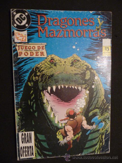 DRAGONES Y MAZMORRAS. TOMO DEL 7 AL 10. ZINCO (Tebeos y Comics - Zinco - Retapados)
