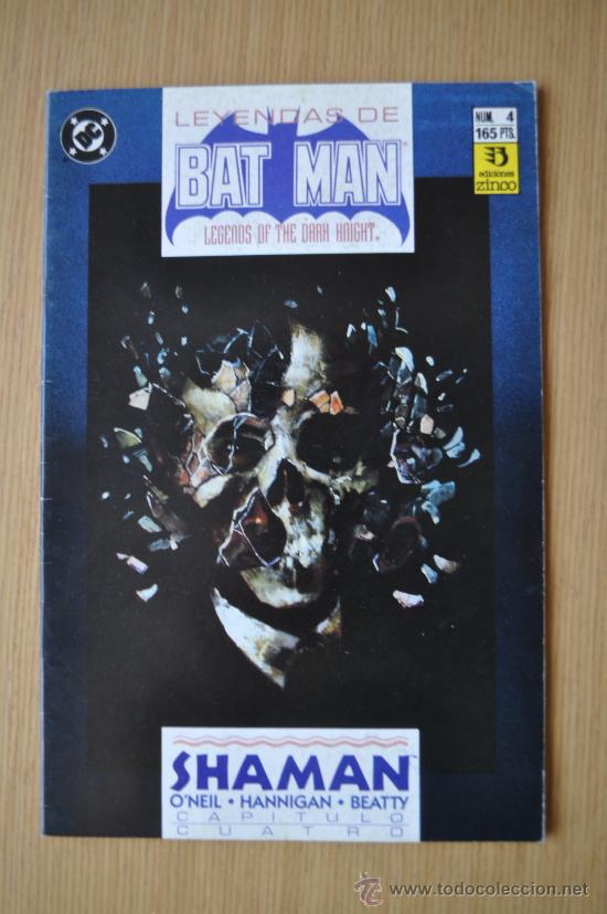 LEYENDAS DE BATMAN Nº 4