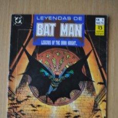 Cómics: LEYENDAS DE BATMAN Nº 6