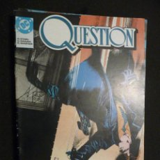 Cómics: QUESTION. Nº 1 AL 3 (DE 6). ZINCO. Lote 28760583