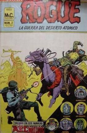 ROGUE LA GUERRA DEL DESIERTO ATOMICO RETAPADO DEL 1 AL 4 (Tebeos y Comics - Zinco - Retapados)