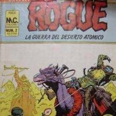 Cómics: ROGUE LA GUERRA DEL DESIERTO ATOMICO RETAPADO DEL 1 AL 4 . Lote 28765120