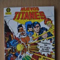 Cómics: NUEVOS TITANES VOLUMEN 1 Nº 31, 32, 33, 34, 35 ED. ZINCO. Lote 28929776