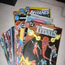 Cómics: OFERTA NUEVOS TITANES - 41 NÚMS + EXTRAS + REGALO- ZINCO TITANS. Lote 28994202