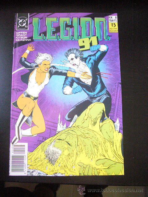 L.E.G.I.O.N. 91 Nº 8 ZINCO GIFFEN KITSON ...........C18 (Tebeos y Comics - Zinco - Legión 91)