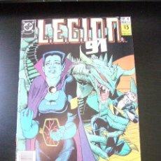 Cómics: L.E.G.I.O.N. 91 Nº 6 ZINCO GIFFEN KITSON ...........C24X2. Lote 29118137