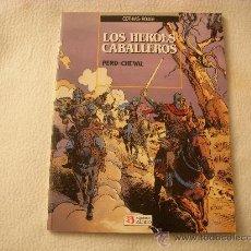 Cómics: LOS HEROES CABALLEROS, DE COTHIAS-ROUGE, EDICIONES ZINCO, RÚSTICA. Lote 29228997