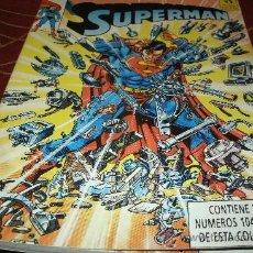 Cómics: SUPERMAN NUMEROS 104 - 105 - 106 - 107 - 108 EN UN TOMO Nº 30. Lote 29254702