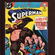 Cómics: COMIC • SUPERMAN Nº 6 ESPECIAL VERANO (JOHN BYRNE) ED. ZINCO. Lote 29350277