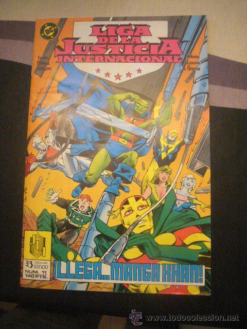 LIGA DE LA JUSTICIA INTERNACIONAL Nº 11 ZINCO (Tebeos y Comics - Zinco - Liga de la Justicia)