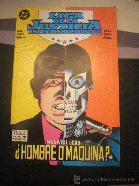 LIGA DE LA JUSTICIA INTERNACIONAL Nº 10 ZINCO ............C26 (Tebeos y Comics - Zinco - Liga de la Justicia)