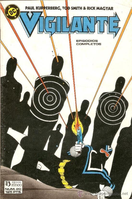 VIGILANTE - Nº 20 - EDICIONES ZINCO - 1986 (Tebeos y Comics - Zinco - Otros)