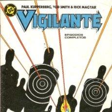 Cómics: VIGILANTE - Nº 20 - EDICIONES ZINCO - 1986. Lote 29484716