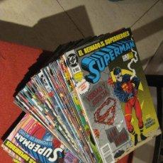 Cómics: SUPERMAN EL REINADO + HOMBRE DE ACERO 50 NUMS - ZINCO. Lote 29586533