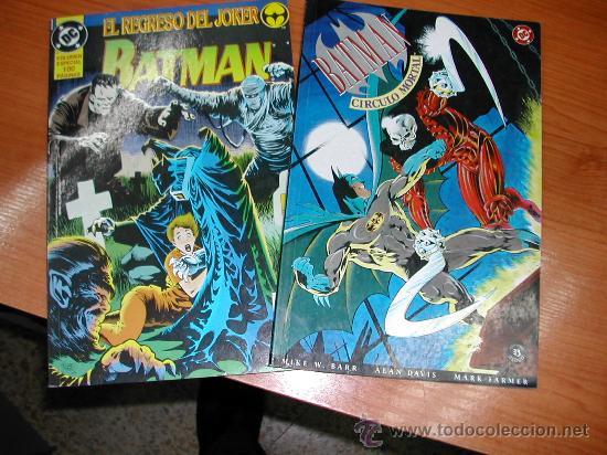 C4910. BATMAN. LOTE 2 COMICS. DC COMICS. ED 1991. (Tebeos y Comics - Zinco - Batman)