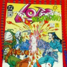 Cómics: LOBO Nº 4 DE SERIE LIMITADA 4 EPISODIOS COMICS DC ZINCO 175 PTAS. Lote 29678722