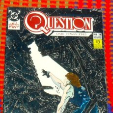 Cómics: QUESTION Nº 31 COMICS DC ZINCO 165 PTAS. Lote 29678729