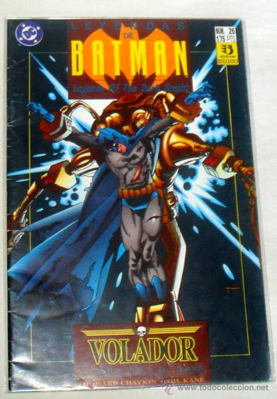 LEYENDAS DE BATMAN Nº 26. EDICIONES ZINCO. DC COMICS.1992 (Tebeos y Comics - Zinco - Batman)
