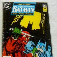 Cómics: BATMAN Nº 35. LAS MUCHAS MUERTES DE BATMAN. EDICIONES ZINCO. DC COMICS. CAPITULO TRES.. Lote 29704583