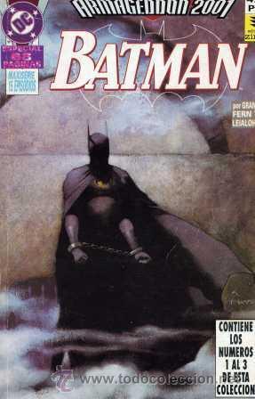 ARMAGEDDON 2001 (TOMO CON LOS 3 PRIMEROS NÚMEROS DE LA COLECCIÓN) BATMAN, SUPERMAN, (Tebeos y Comics - Zinco - Retapados)