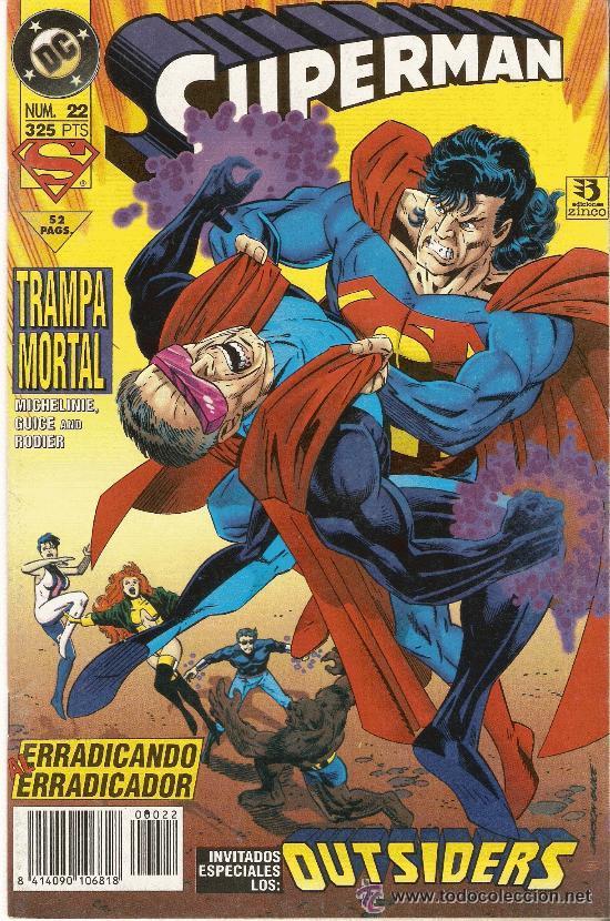 SUPERMAN Nº 22 (Tebeos y Comics - Zinco - Superman)