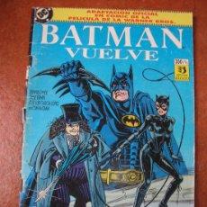 Cómics: BATMAN VUELVE. Lote 30125509