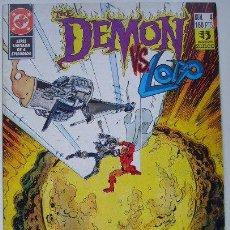 Cómics: DEMON VS. LOBO. Lote 30178503