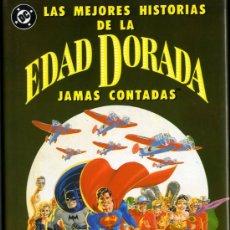 Cómics: EDAD DORADA LOS MEJORES HISTORIAS JAMAS CONTADAS VARIOS -ZINCOI1990 CAJA F.1 BIBLIOTECA . Lote 30331228