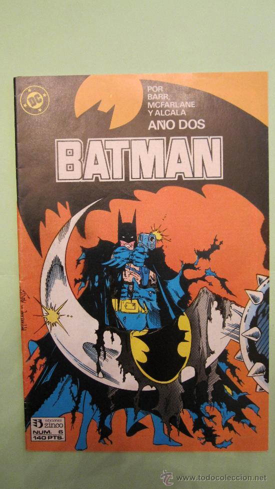 DC. ZINCO: BATMAN AÑO DOS Nº 6 (BARR, MCFARLANE Y ALCALA) (Tebeos y Comics - Zinco - Batman)