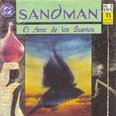 Cómics: SANDMAN 2 - EL AMO DE LOS SUEÑOS - NEIL GAIMAN - ZINCO. Lote 30521956