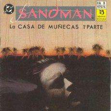 Cómics: SANDMAN 3 - LA CASA DE LAS MUÑECAS 1 - NEIL GAIMAN - ZINCO. Lote 30521967