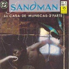 Cómics: SANDMAN 4 - LA CASA DE LAS MUÑECAS 2 - NEIL GAIMAN - ZINCO. Lote 30521974