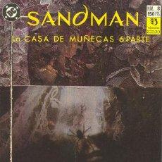 Cómics: SANDMAN 8 - LA CASA DE LAS MUÑECAS 6 - NEIL GAIMAN - ZINCO. Lote 30521997