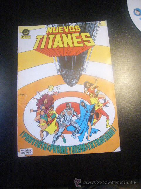 NUEVOS TITANES VOL. 1 Nº 10 MARV WOLFMAN Y GEORGE PEREZ ZINCO C12X5 (Tebeos y Comics - Zinco - Nuevos Titanes)