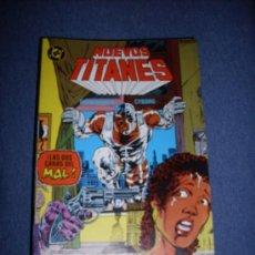 Cómics: ZINCO DC LOS NUEVOS TITANES NUMERO 48. Lote 112448570