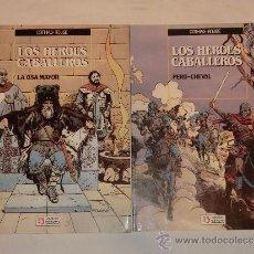 Cómics: LOS HEROES CABALLEROS - COMPLETA - ZINCO. Lote 30883181