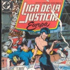 Cómics: LIGA DE L FUSTICIA - EUROPA - ¡REGRESO A BIALYA! - EDICIONES ZINCO Nº 4 - 1989. Lote 30992656